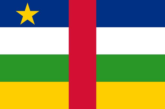 Drapeau De La Centrafrique